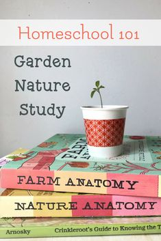 Gardening is a wonderful way to add in some practical nature study and botany in your #homeschool. Learn how and find our garden journal curriculum here! #everydaygraces via @LarasPlace