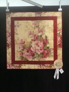 Painel da Prof. Silvana Greice premiado em Gramado 2013 - Quilt  THEO SCHAFKE  CATEGORIA  INOVATIVO
