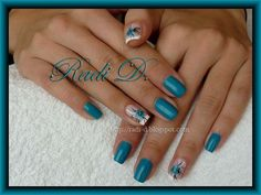 Turquoise - Nail Art Gallery