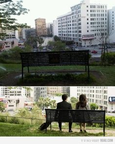 Tons of filming happens everywhere in Los Angeles. (500) Days of Summer was filmed downtown and you can visit the famous bench. www.EastLionRE.com