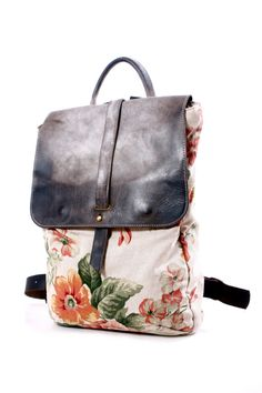 c22d6a88cf771 Ähnliche Artikel wie Floral 13 Zoll Handtasche Rucksack