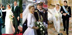 Vestidos de manga longa em tecidos mais encorpados: como 9 em cada 10 princesas usam.