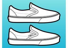 vans-shoes-vector.jpg (700×490)