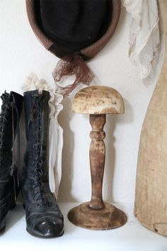 Jeanne d´Arc Living Hutständer Mützenständer Holzständer Shabby Brocante vintage