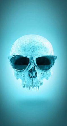 Cool Skull - literally.