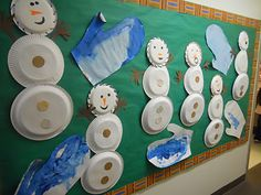 Lots of simple winter activities for 2-3 year olds.
