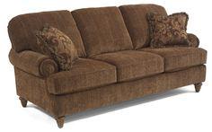 MY Flexsteel Sofa but mine is more of a dark terra cotta :-)