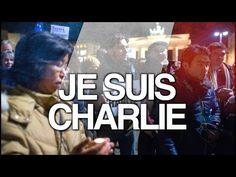 Je suis Charlie: Berlin trauert um die Opfer des Anschlags in Paris - YouTube #jesuischarlie #charliehebdo