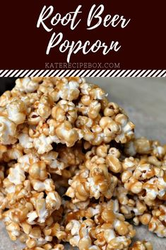 Popcorn Toppings, Popcorn Seasoning, Popcorn Snacks, Candy Popcorn, Air Popped Popcorn, Flavored Popcorn, Gourmet Popcorn, Popcorn Recipes, Beer Recipes