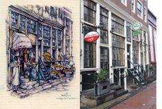 Voetboogstraat, Amsterdam Anton Pieck, Amsterdam Art, Street View, Kunst