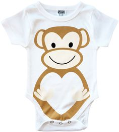 Baby onesie monkey birthday party ideas first birthday cute onesies funny unique baby shower gifts first birthday chubs baby clothes