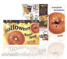 Kundenauftrag: Halloween Folder für tegut