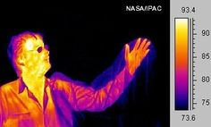 Plastic bag on infrared camera