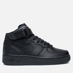 b9be716c9f73fc Женские кроссовки Nike Air Force 1 Mid 07 Black 366731-001