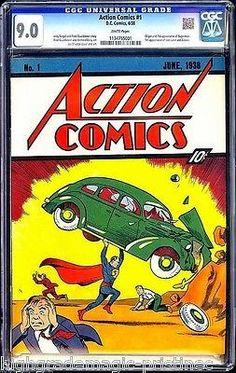 Comic Book Hunter & Gatherer: Action Comics #1 - eBay Copy Update