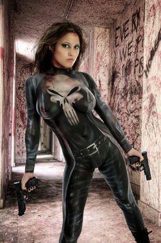 Punisher Body Paint