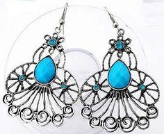 Hey, I found this really awesome Etsy listing at https://www.etsy.com/listing/195521871/silver-exquisite-blue-beaded-and