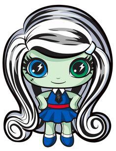 Frankie Stein. Monster High Mini. Original Ghouls