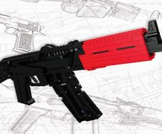 Certainly the most badass LEGO building instructions you're going to find.LEGO Heavy Weapons provides you with the schematics to build aDesert Eagle handgun