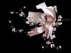 Pink Edwardian opera gloves. Kid leather, Paris 1900s. - unused - long gloves - leather gloves - evening gloves - suede - la belle epoque - de HankiesHandkisses en Etsy