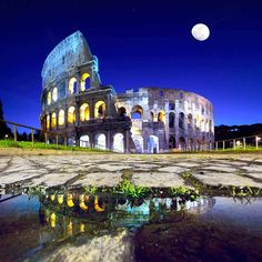 #Colosseum by night, Rome