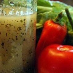 Molho italiano de ervas secas para salada