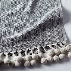 Close-up shots for textural elements on blankets & cushions.