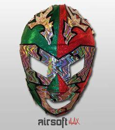 Dr. Wagner Jr. Mexican Pro-Wrestling Lycra Mask- Lucha Libre Mask by 00147131b49d2