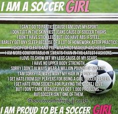 Soccer is for life. :)