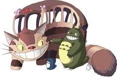 トトロと猫バス Totoro