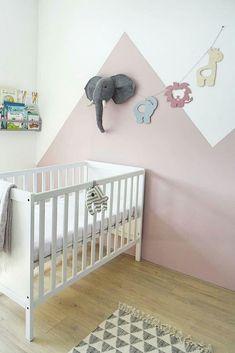 Jungle Bedroom Wallpaper, Interior Wallpaper, Wall Wallpaper, Baby Room Design, Baby Room Decor, Mix Match, Nursery Accessories, Wooden Decor, Little Girl Rooms