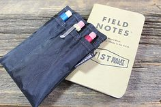 DIY..... This is one heck of a deal! This package includes a black Pocket Journal Sleeve by Rickshaw bags, THREE Twist Bullet Pencils (you choose!, excludes raw brass) and one pocket clip and cap system (again
