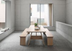David Chipperfield for E15 Table and Bench | Remodelista