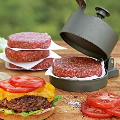 I'd say this is one of the better press for making hamburgers.  Make em fast and make a plenty with this