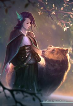 shalizeh7:Vex and Trinket from Critical Role.