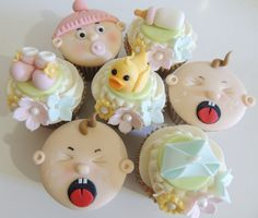 shower cupcakes - Buscar con Google