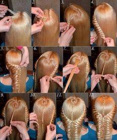 Amazing Step By Step Hair Braid