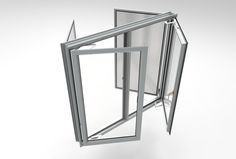 casement window with flyscreen