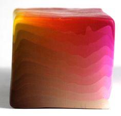 Polymer clay four corner color blend plug tutorial by Polymer Clay Workshop