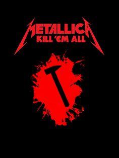 Metallica Tattoo, Metallica Art, Rock Band Posters, Metallic Wallpaper, Beautiful Mask, Metal Artwork, Thrash Metal, Art Pop, Musical