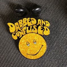 Headiest Dab Pins: Dabbed and Confused Hat Pin | Weedist