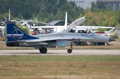 MiG-35 on MiG-29M OVT:n vientimalli, joka on varustettu suihkuvirtauksen suuntauksella varustetuilla RD-33 OVT -moottoreilla. MiG-35 esiteltiin ensi kerran elokuussa 2005 MAKS-ilmailunäyttelyssa Moskovassa ja ulkomailla Aero India-2007 show'ssa. Koneessa on uusi viidennen sukupolven Žuk-AE AESA-tyypin tutka.