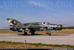 Bulgaria - Air Force, Mikoyan-Gurevich MiG-21bis, 392 (cn 75094392), Graf Ignatievo (LBPG) - Bulgaria, October 6, 2012.