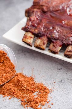 Looking for a rub for a pork butt or ribs? This is the best dry rub recipe for pork hands down! Best Dry Rub Recipe, Bbq Rub Recipe, Dry Rub Recipes, Rib Recipes, Entree Recipes, Crockpot Recipes, Dessert Recipes, Cooking Recipes, Delicious Recipes