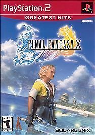 FINAL FANTASY X 10 (2002, PS2 RPG) PlayStation 2 Complete