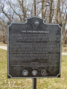 map of chicago portage - Google Search