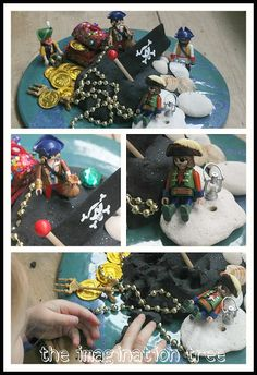 pirate sensory play