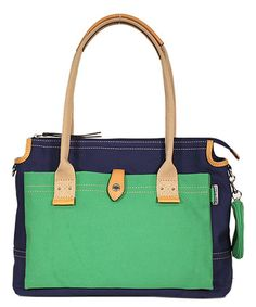 Green Poppy Tote by Franco Sarto