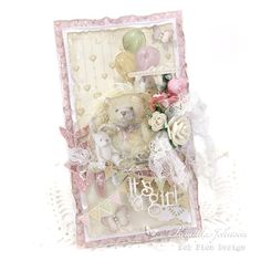 My Little Craft Things: Pion Design - It's a Girl!