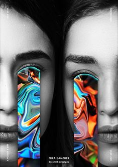 Graphic designs Graphic Design, Portrait, Abstract, Tattoos, Artwork, Poster, Summary, Tatuajes, Work Of Art
